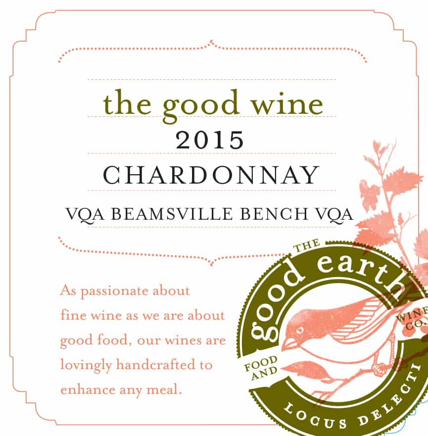 2015 Chardonnay The Good Wine