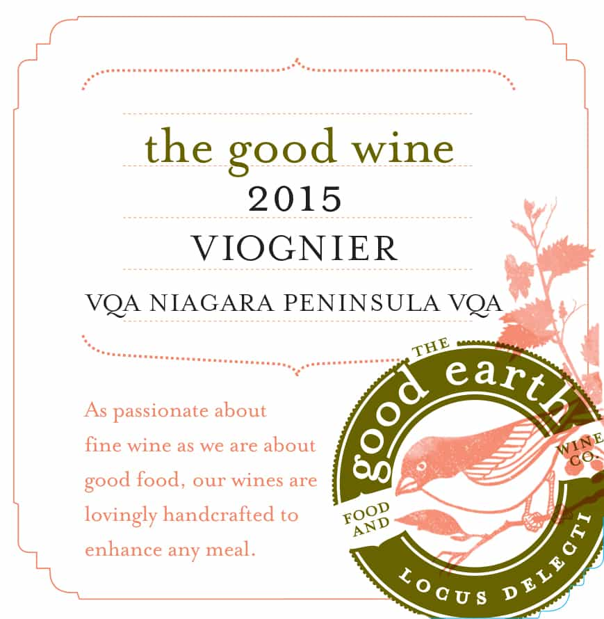 2015 Viognier Label