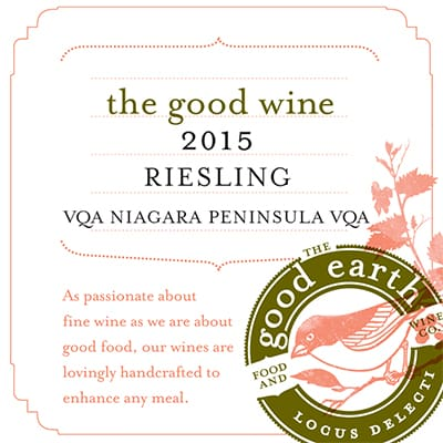 2015 Riesling the good wine