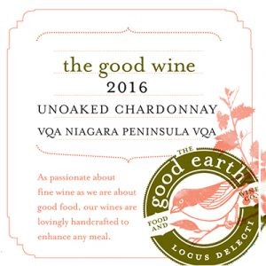 The Good Wine 2016 Unoaked Chardonnay