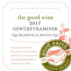 The Good Wine 2017 Gewurztraminer
