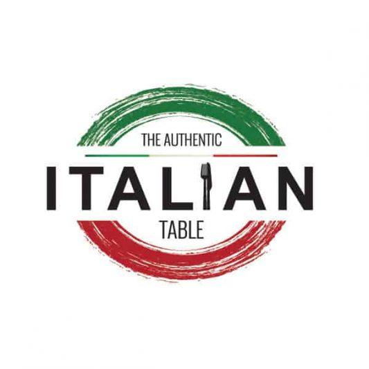 The Authentic Italian Table logo