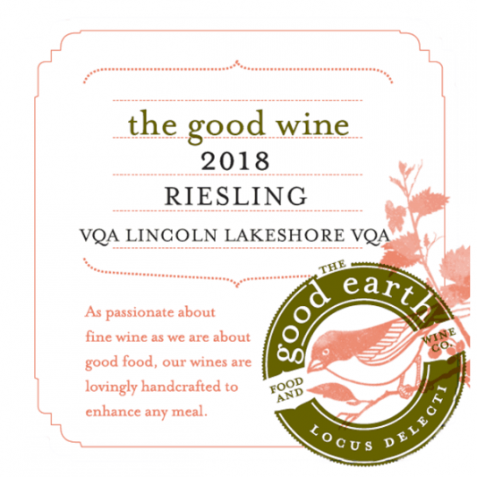 The Good Wine 2018 Riesling