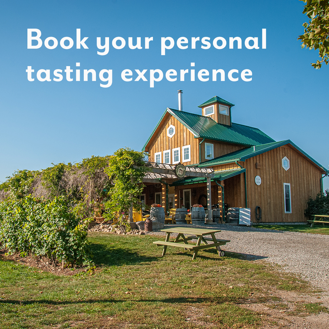 Book your personal tasting experience