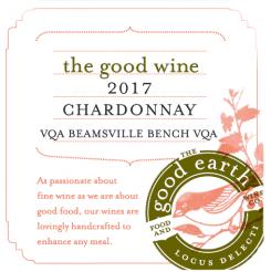 2917 Chardonnay label