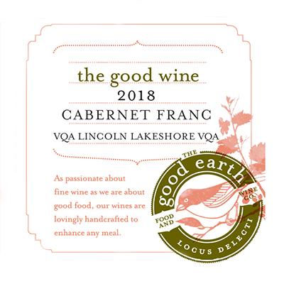 2018 Cabernet Franc label