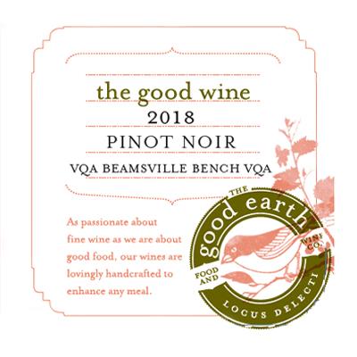2018 Pinot Noir label