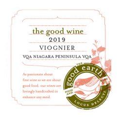 2018 Viognier label
